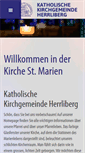 Mobile Preview of kath-herrliberg.ch